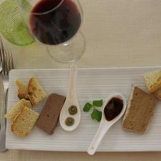 Antipasto Tris di terrine ristorante La Tagliatella Arezzo