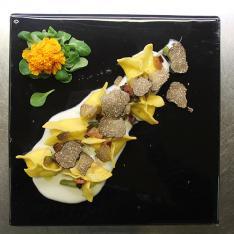 Sacchettini al parmigiano e tartufo ristorante Dario e Anna Arezzo