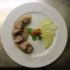 Filetto di Mangalica ristorante Dario e Anna Arezzo