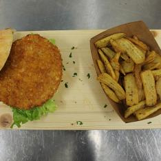 Chicken Burger Quokka cafè Arezzo