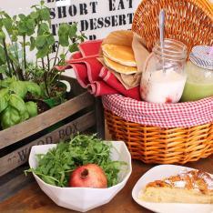 Cestino pic-nic vegan Eda's Bakery Vetrinando Arezzo
