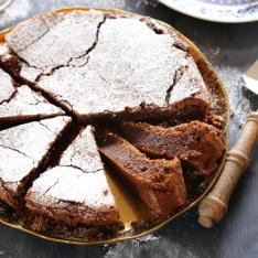 Torta Caprese Eda's Bakery Arezzo Vetrinando