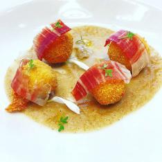 crocchette di prosciutto Mangalica ristorante Dario e Anna Arezzo