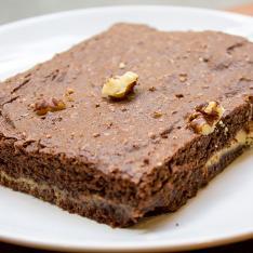 Brownie caramello e pistacchi Eda's Bakery Vetrinando Arezzo