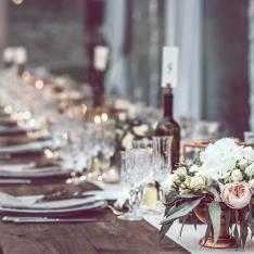 Wedding in Arezzo Hills: allestimento tavoli Flowers Living Vetrinando Arezzo