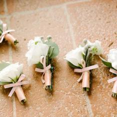 Elegant wedding: dettagli Flowers Living Vetrinando Arezzo