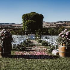 Country Chic: allestimento cerimonia Flowers Living Vetrinando Arezzo