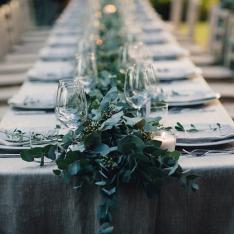 Late Autumn Wedding: allestimento tavoli e dettagli Flowers Living Vetrinando Arezzo