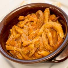 Secondi piatti tradizione trippa all'aretina ristorante La Tagliatella Arezzo