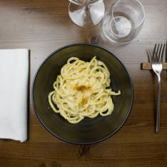 Pici cacio e pepe ristorante Bistrot 31 Arezzo