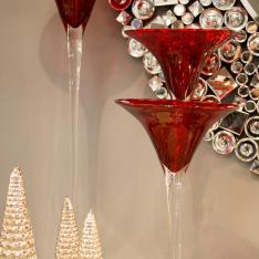 Portacandele Bicchiere Interni Design Vetrinando Arezzo