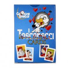Gioco di carte I Toscanacci Cards Wonderland Vetrinando Arezzo