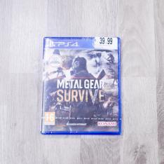 Metal Gear Survive Game Tekk Vetrinando Arezzo