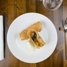 Pasta Fillo con Verdure e Wasabi Bistrot 31 Vetrinando Arezzo