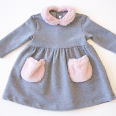 Vestito Neonata Il Gufo Ada e Zucchero Vetrinando Arezzo