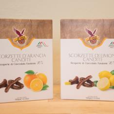 Scorzette Ricoperte di Cioccolato Click Cafè Vetrinando Arezzo