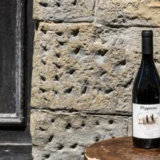 Poppiena Pinot Nero emilio in vineria vetrinando arezzo