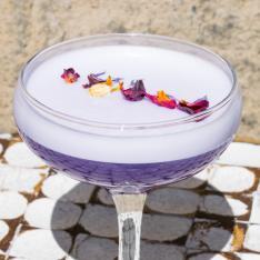 Rum Infuso con Blue Pea Flower Emilio Cafe Vetrinando Arezzo