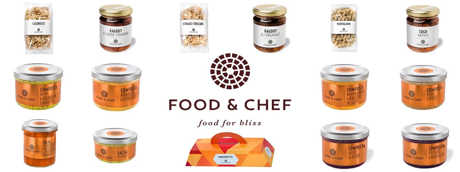 Food and Chef: Food for Bliss prodotti alimentari gourmet arezzo