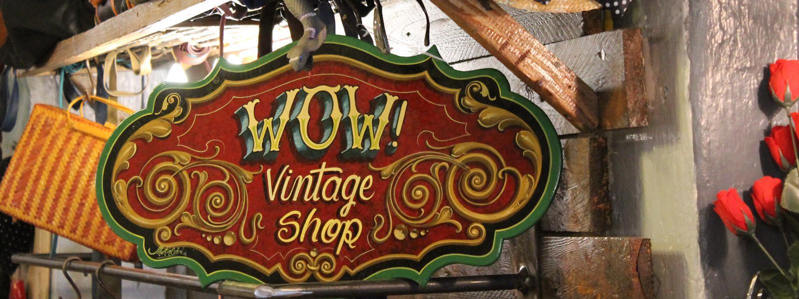 Wow vintage shop abbigliamento vintage Vetrinando Arezzo